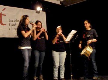 L'Escola de Música Tradicional inicia el segon quadrimestre amb 50 alumnes inscrits