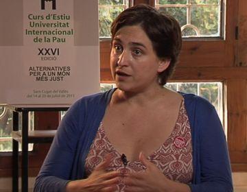 Ada Colau (Unipau): 'Les hipoteques condemnen de per vida les famílies'