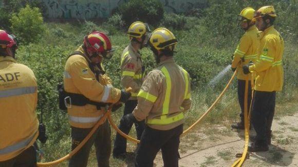 L'ADF es prepara per a la campanya d'incendis forestals