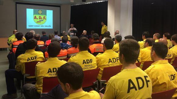 L'ADF encara la campanya forestal amb nous voluntaris