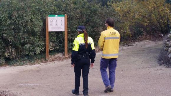 L'ADF i la Policia Local creen patrulles conjuntes a Collserola