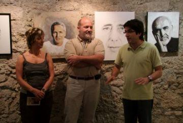 Adolf exposa a Capellades la mostra 'Fidelitat al retrat'