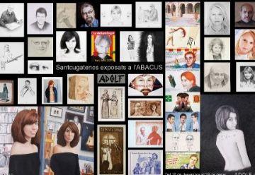 Retrats de santcugatencs, nova exposició d'Adolf a Abacus