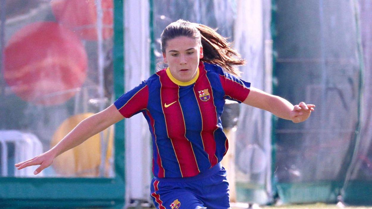 Adriana Ranera ha estat convocada per primera vegada amb la selecció espanyola sub-17 / Foto: Cedida