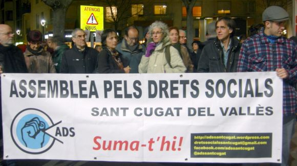 L'Assemblea pels Drets Socials de Sant Cugat se solidaritza amb la PAH de Rubí
