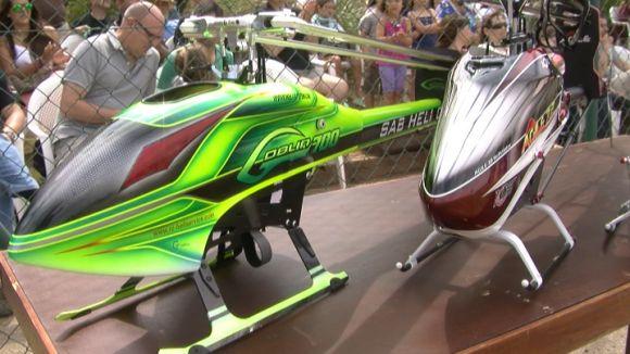 Els helicòpters, algunes de les propostes de la Festa del Cel