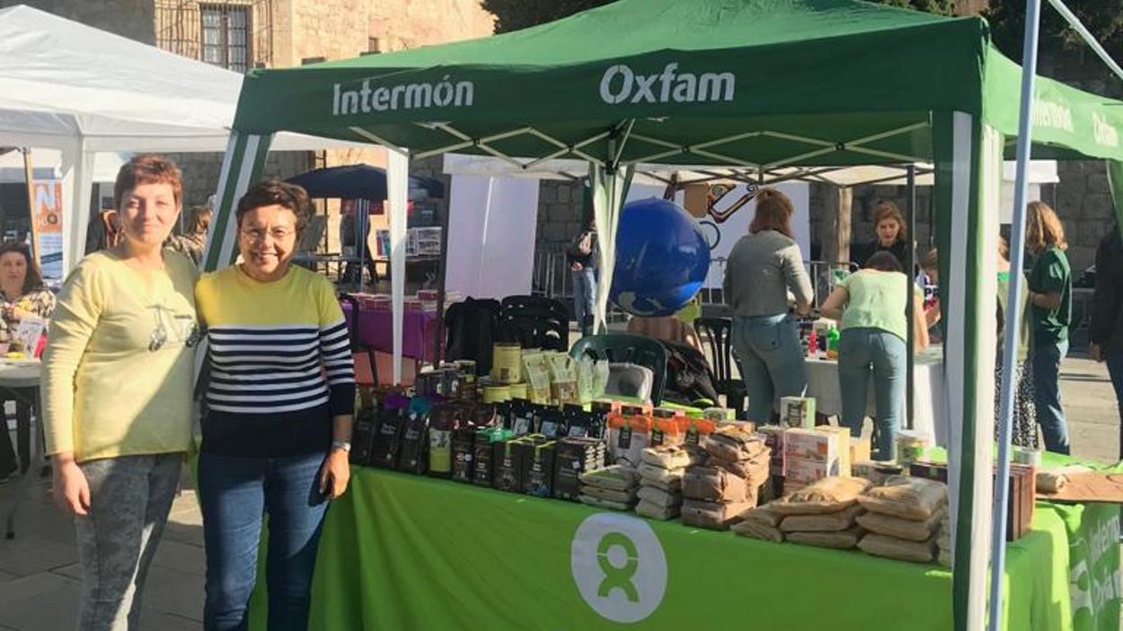 Parada Oxfam Intermón