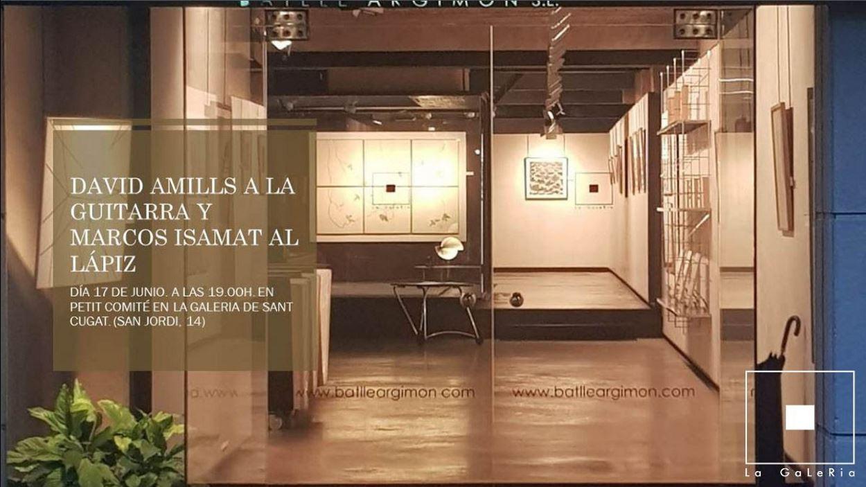 Concert: David Amills i Marcos Isamat
