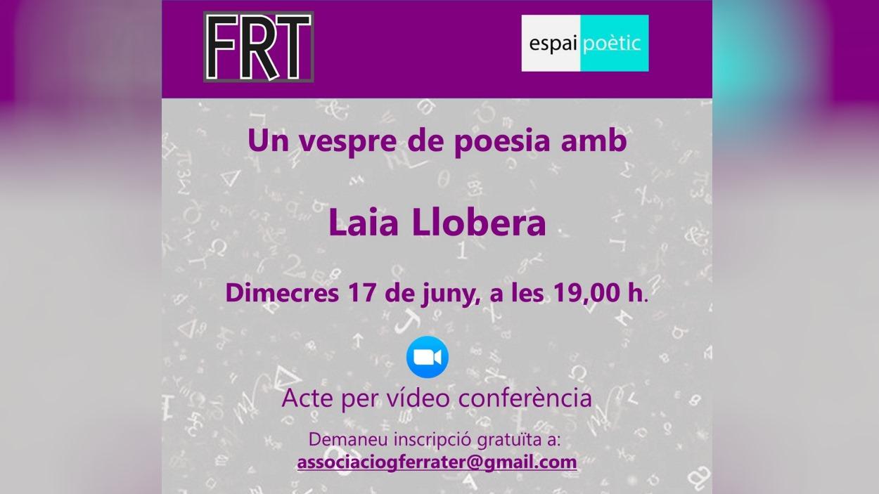 Espai poètic: Un vespre de poesia amb Laia Llobera