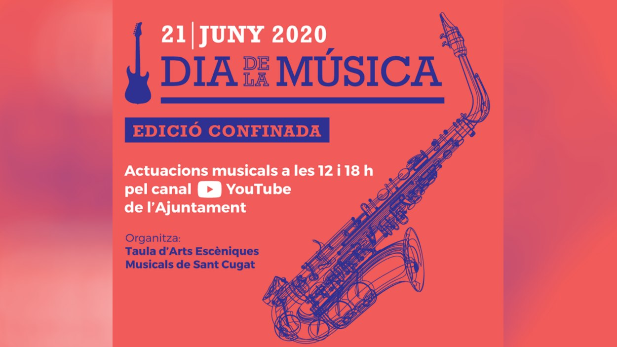 Dia Internacional de la Música - edició confinada