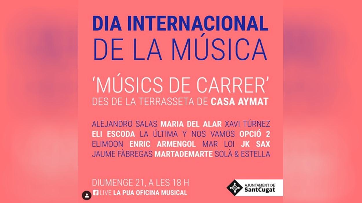 Projecte 'Músics de Carrer' de La Pua - Oficina Musical