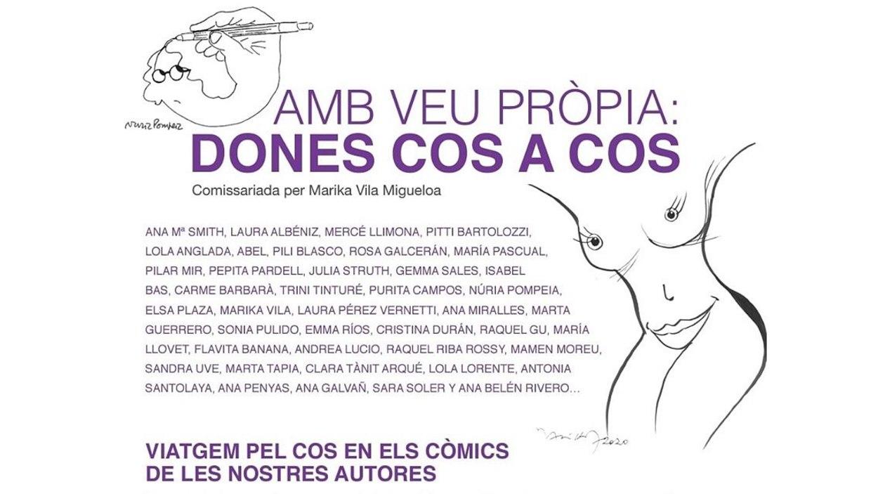 Exposició: 'Amb veu pròpia: dones cos a cos'