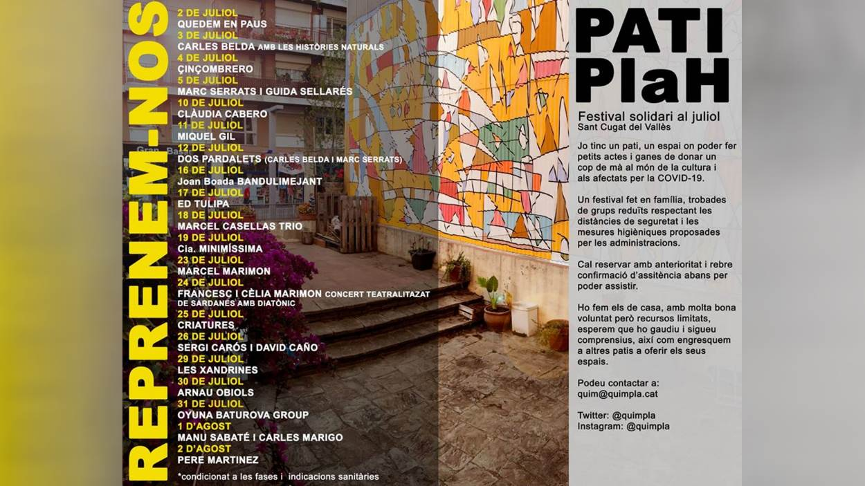 Festival Pati Plah: Dos pardalets (Carles Belda i Marc Serrats)