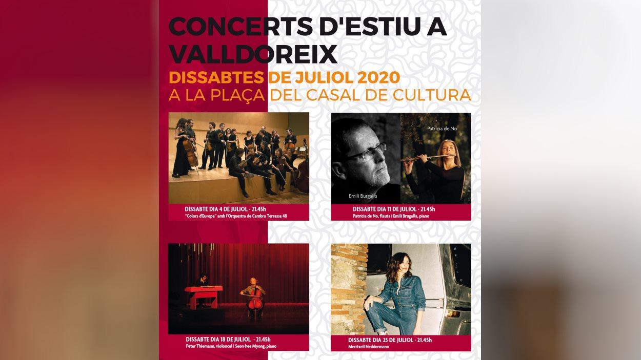 Concerts d'Estiu a Valldoreix: Patricia de No i Emili Brugalla
