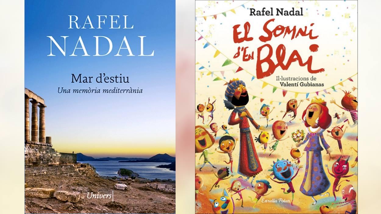 Tour de signatures de Rafel Nadal: 'Mar d'estiu' i 'El somni d'en Blai'