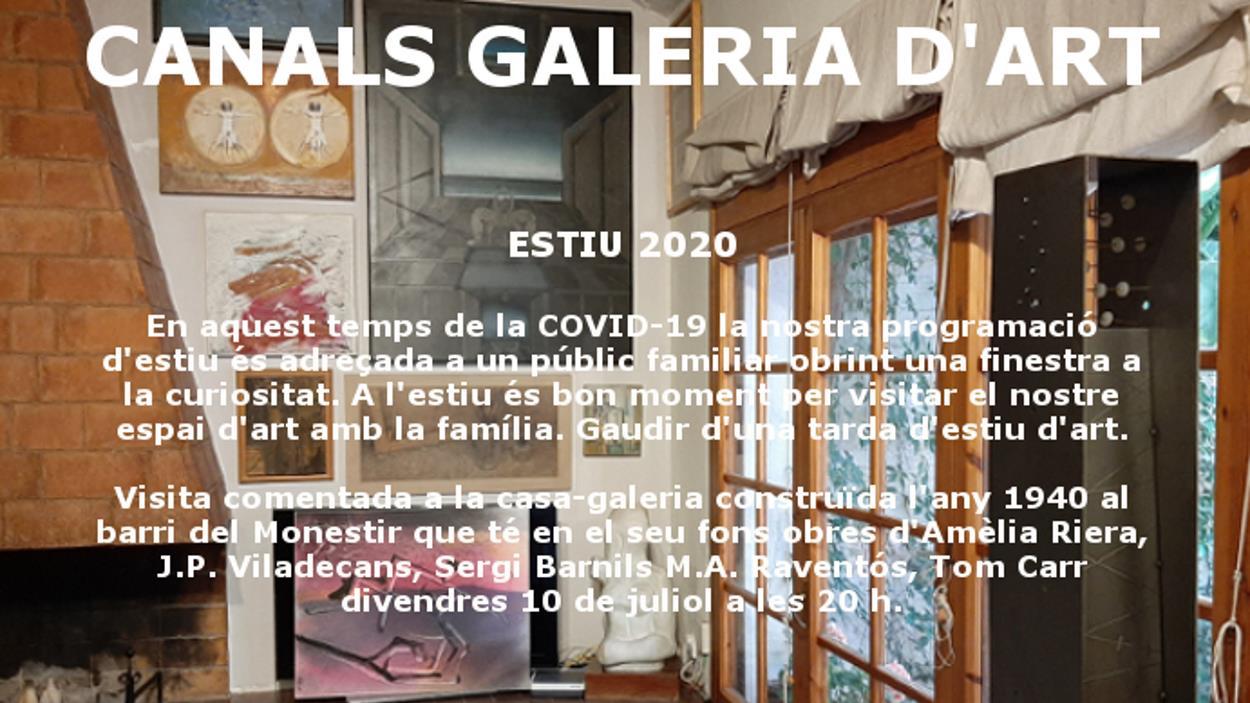 Visita comentada a la Canals Galeria d'Art