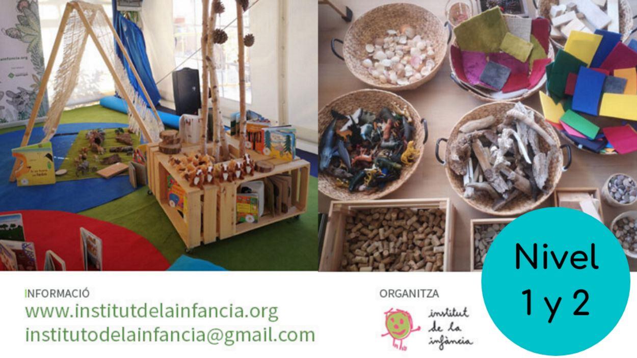 Formació: 'Minimundos, piezas sueltas & literatura infantil en el aula 3-6'