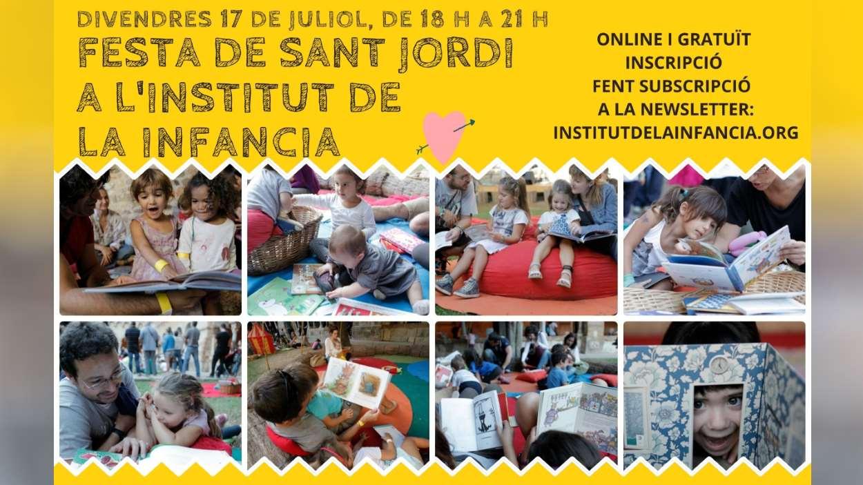Festa de Sant Jordi a l'Institut de la Infància
