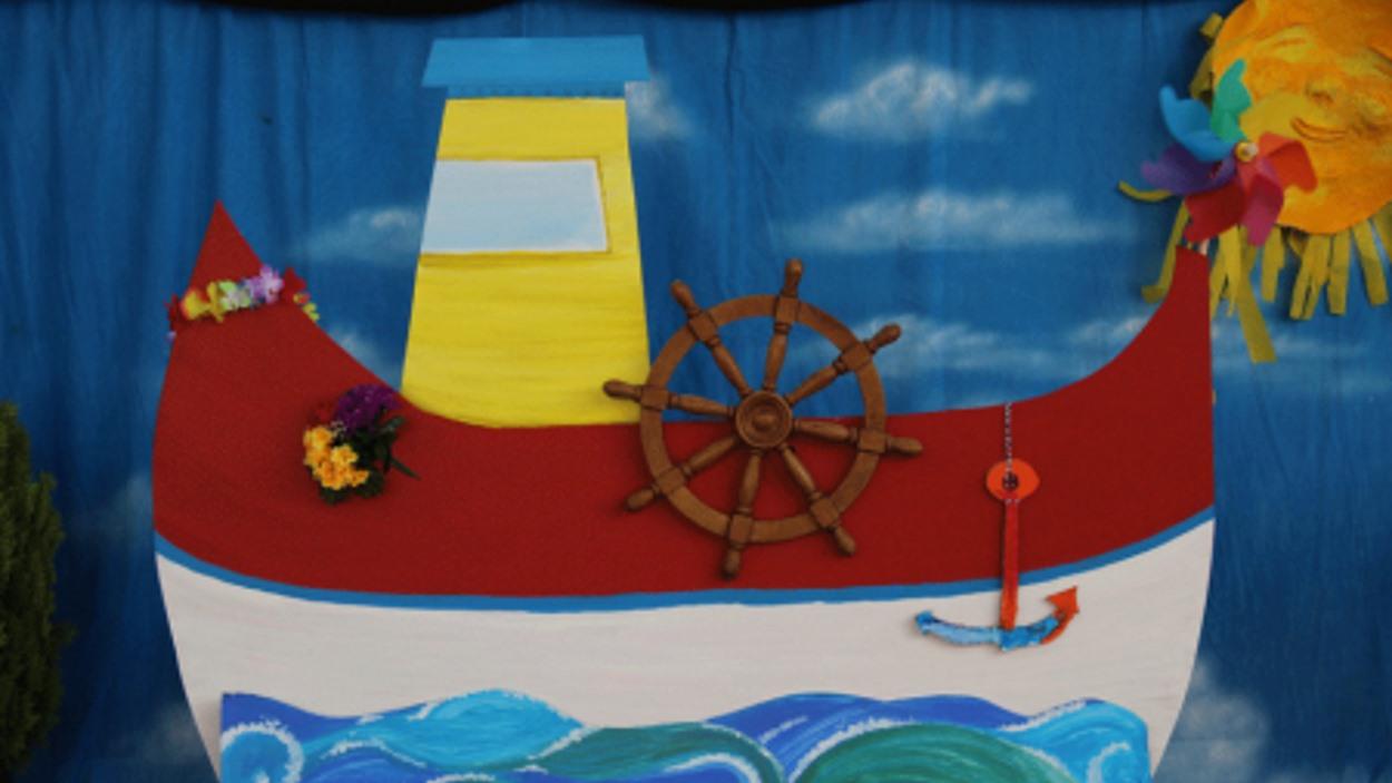Espectacle infantil al pati de l'Ateneu: 'Contes del mar de la Capitana Sargantana'