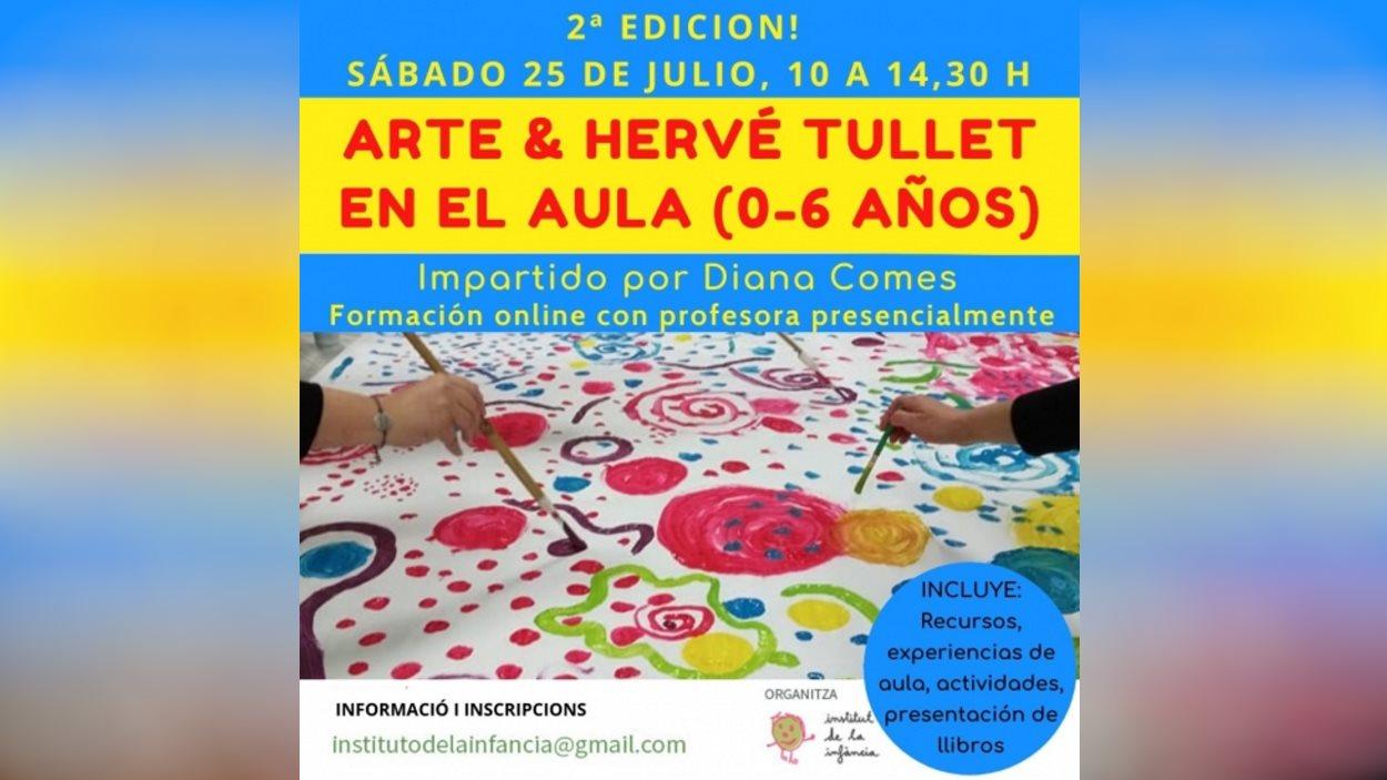 Formació: 'Art & Hervé Tullet a l'aula (0-6 anys)' (2a edició)