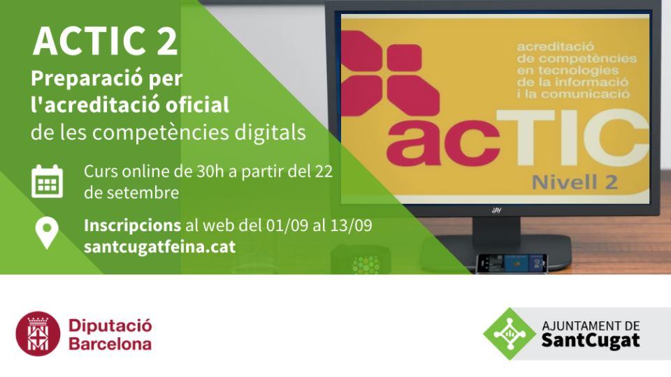 ACTIC 2 : Acreditació oficial de les competències digitals