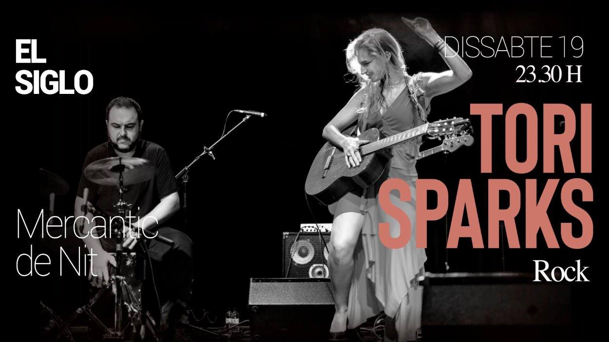 Mercantic de Nit: Concert de Tori Sparks