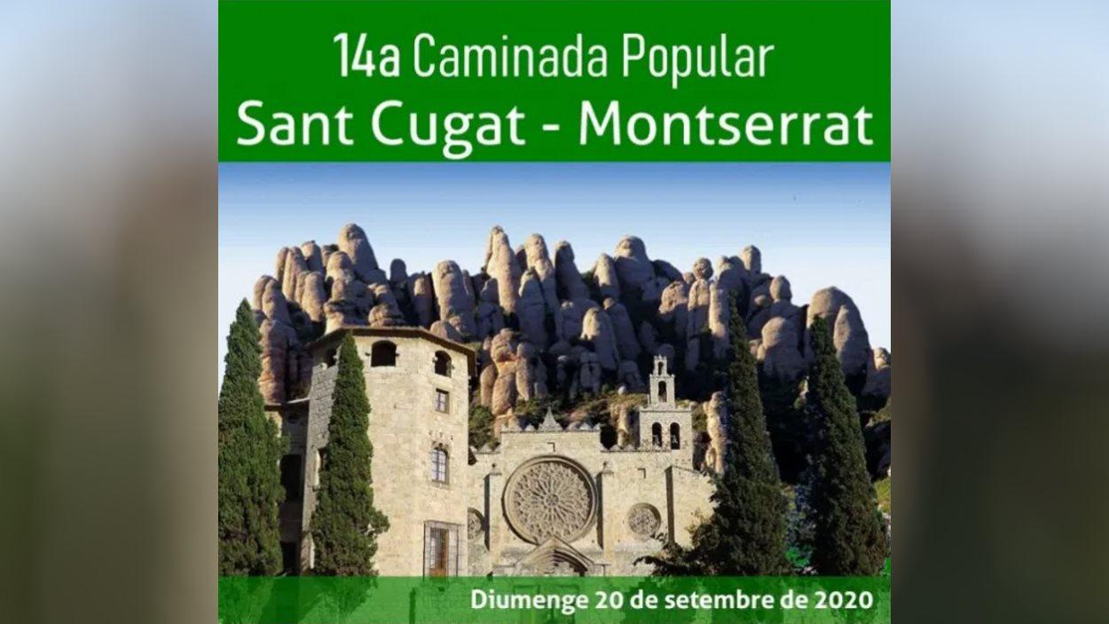 14a Caminada popular Sant Cugat-Montserrat