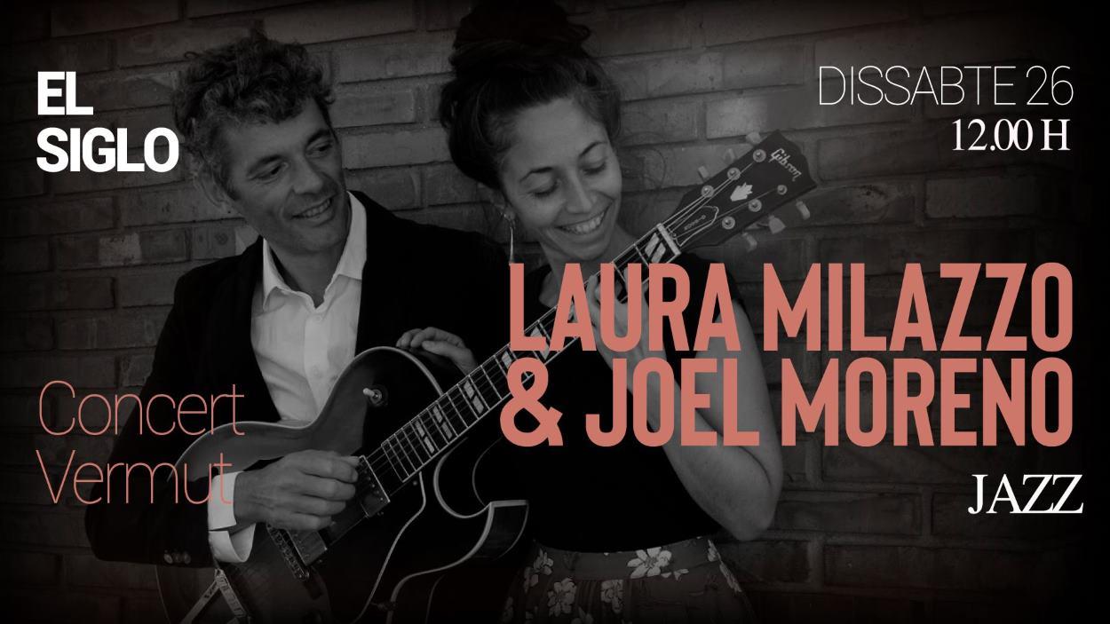 Concert-vermut a El Siglo: Laura Milazzo & Joel Moreno