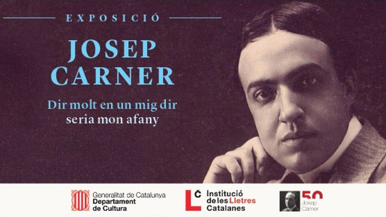 Exposició: 'Josep Carner. Dir molt en un mig dir seria mon afany'