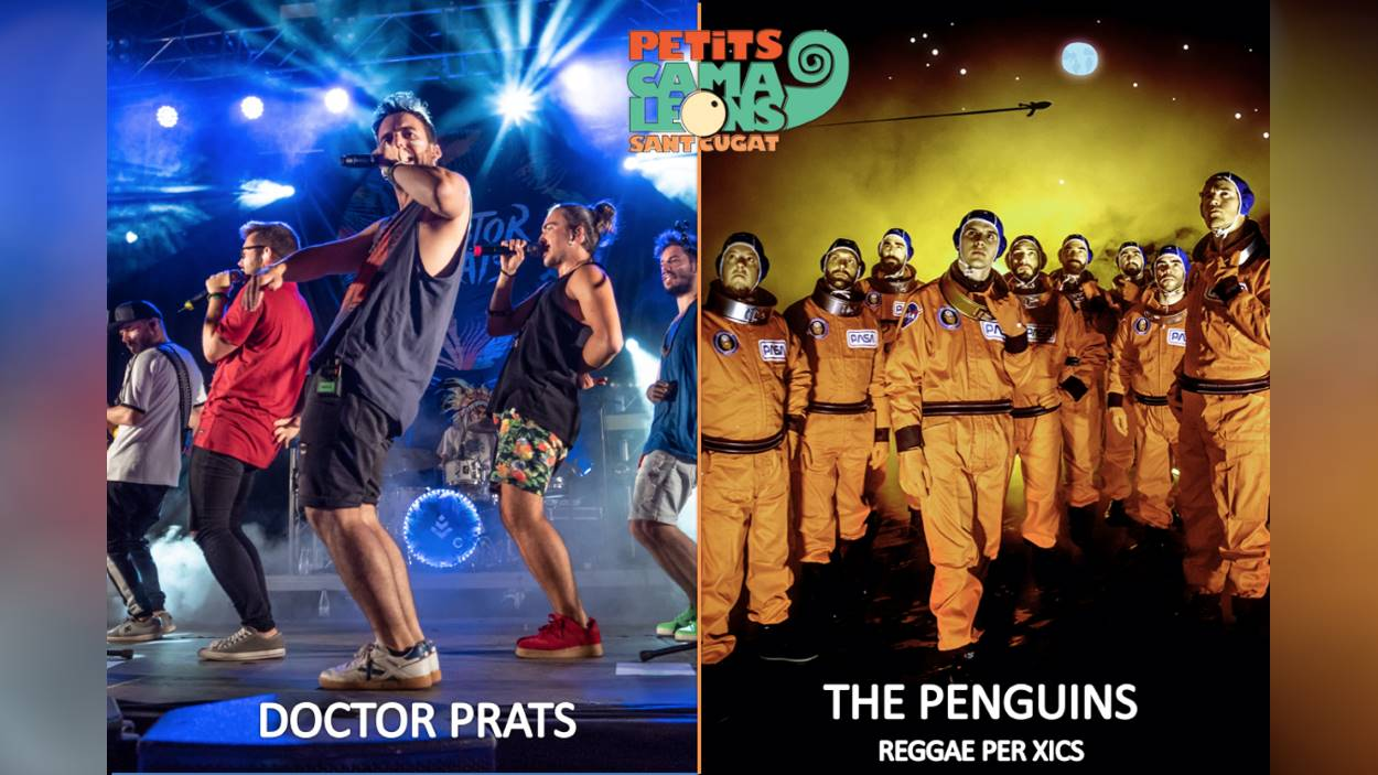 Festival Petits Camaleons: The Penguins Reggae per Xics + Doctor Prats