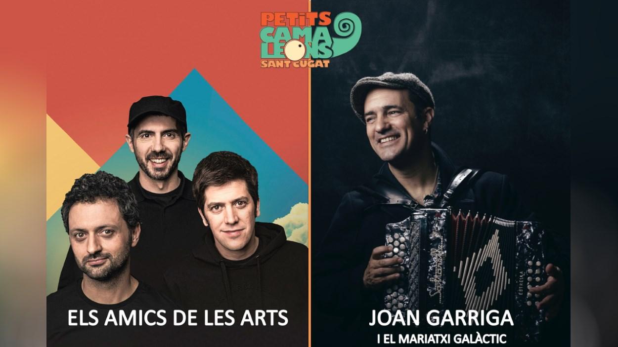 Festival Petits Camaleons: Joan Garriga i el Mariatxi Galàctic + Els Amics de les Arts