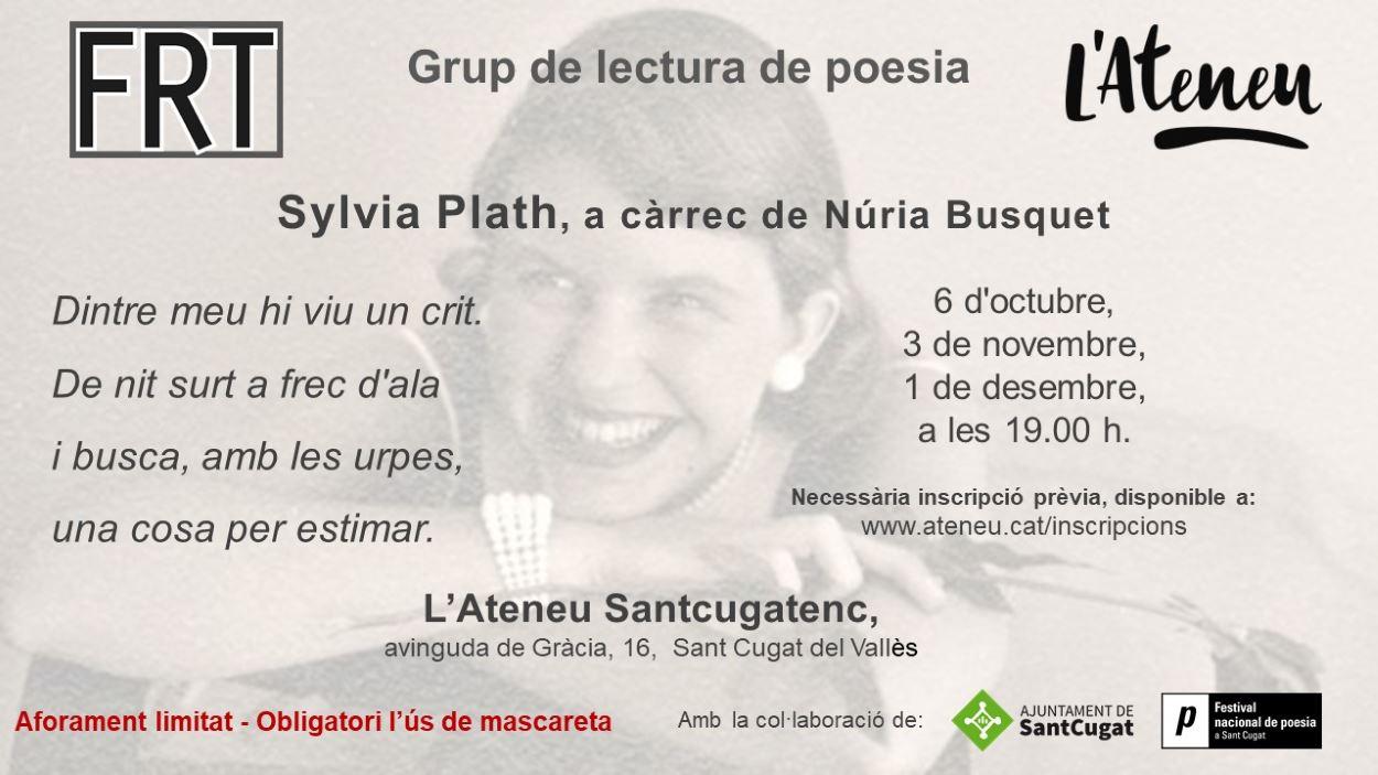 Grup de lectura de poesia: Sylvia Plath - En línia i presencial