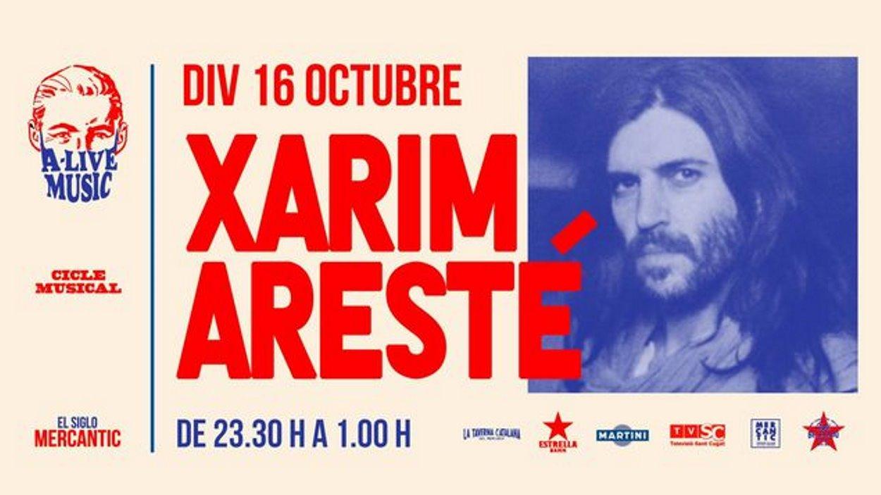AJORNAT! A-Live Music: Xarim Aresté