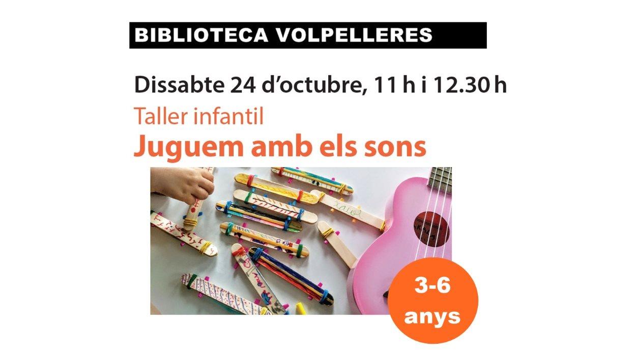 Taller infantil: 'Juguem amb els sons'