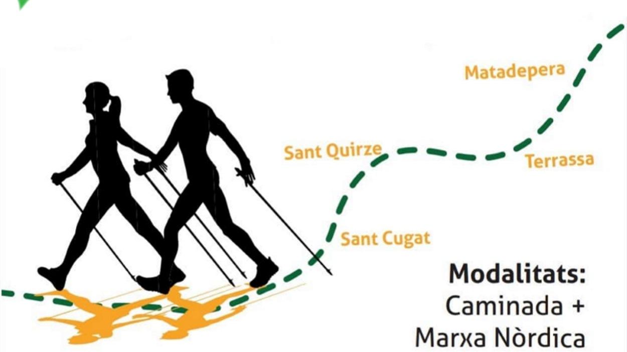 AJORNAT! 10a Marxa del Corredor Verd del Vallès (caminada + marxa nòrdica)