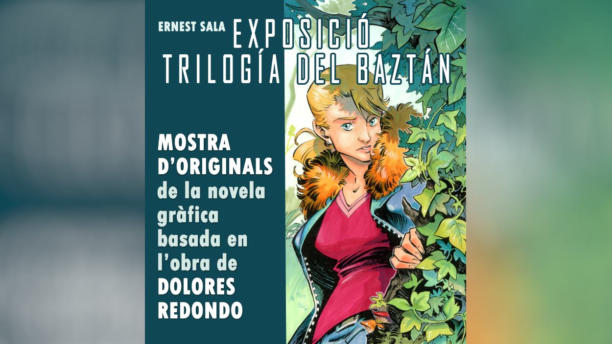 Signatura de novel·la gràfica: 'Trilogía del Baztán', d'Ernest Sala