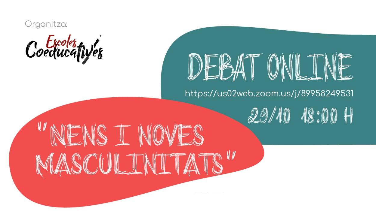 Debat online: 'Nens i noves masculinitats'