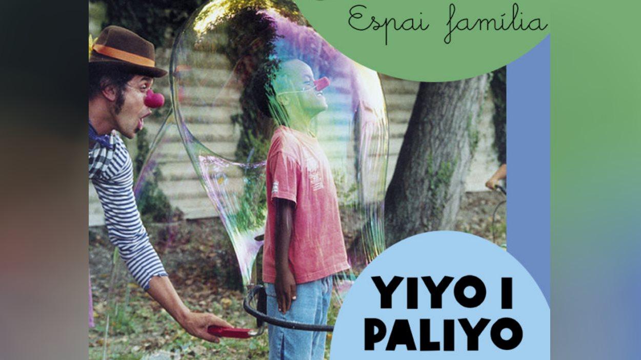 Espectacle infantil de bombolles de sabó: 'Yiyo i palillo'