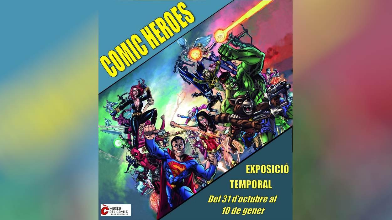 Exposició: 'Comic Heroes'