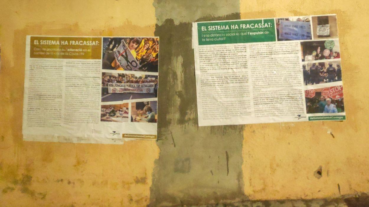 Roda de premsa d'Hora Bruixa: 'El sistema ha fracassat'