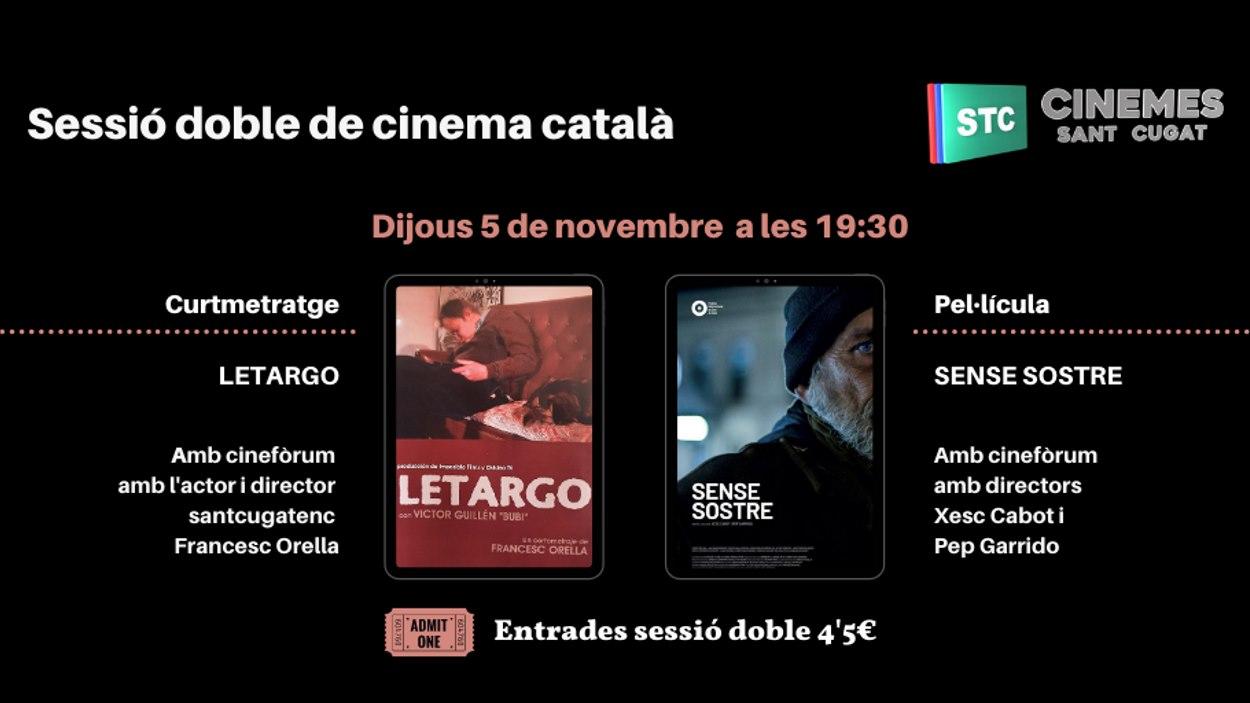 Sessió doble de cinema català: 'Letargo' i 'Sense sostre'