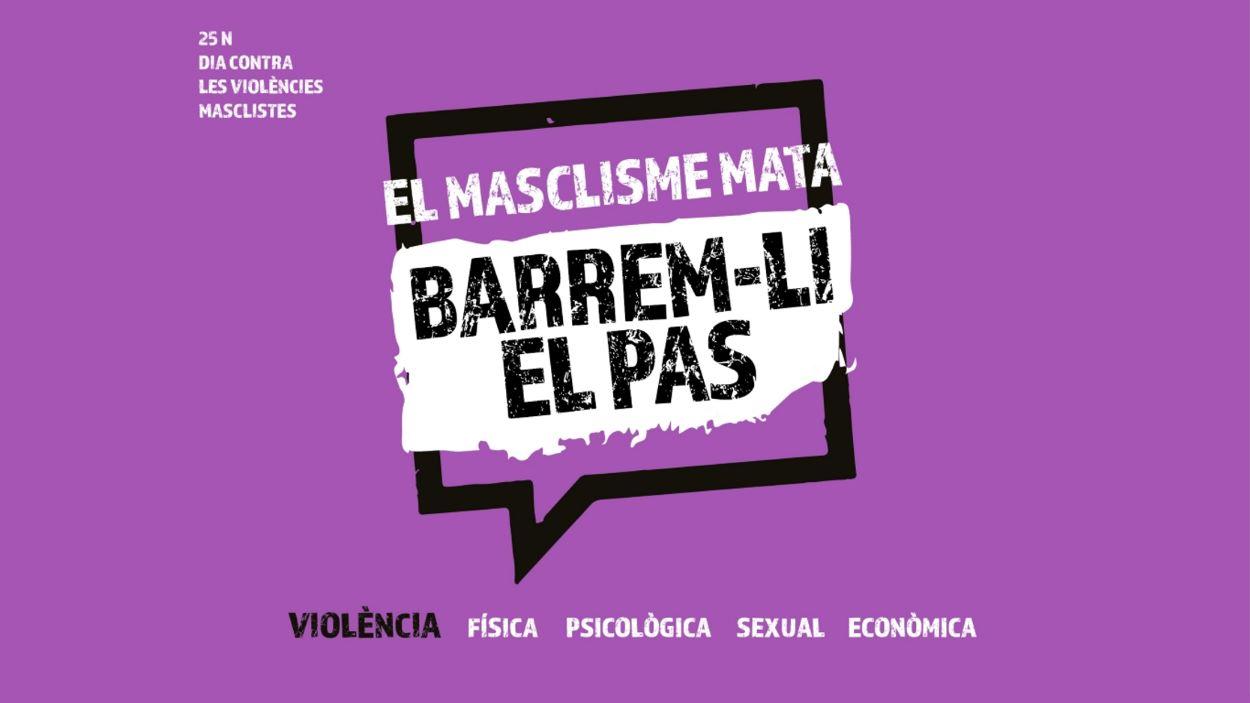 25N DIA CONTRA LES VIOLÈNCIES MASCLISTES