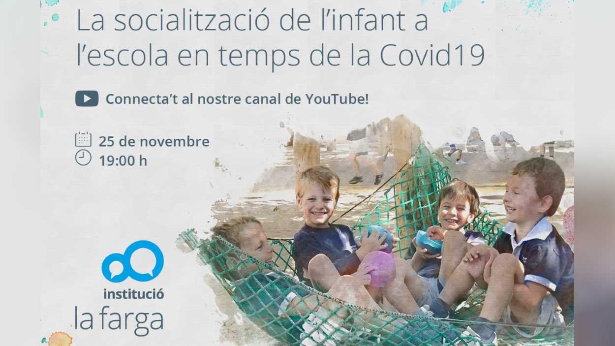 ONLINE - Webinar: 'La socialització de l'infant a l'escola en temps de la Covid-19'