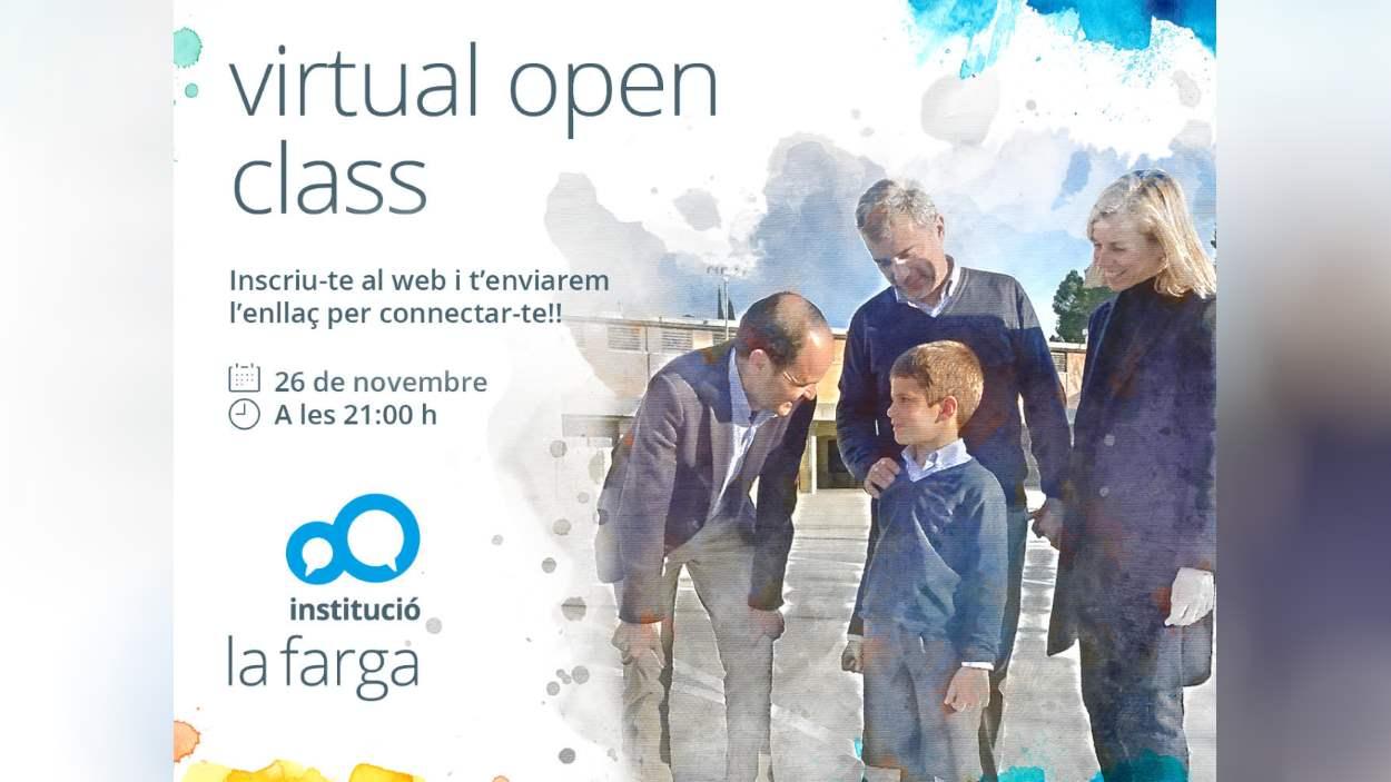 ONLINE - Sessió informativa: 'Virtual Open Class de La Farga'