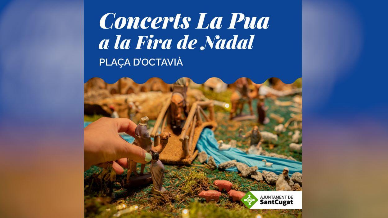 Concerts La Pua a la Fira de Nadal: Irene & François