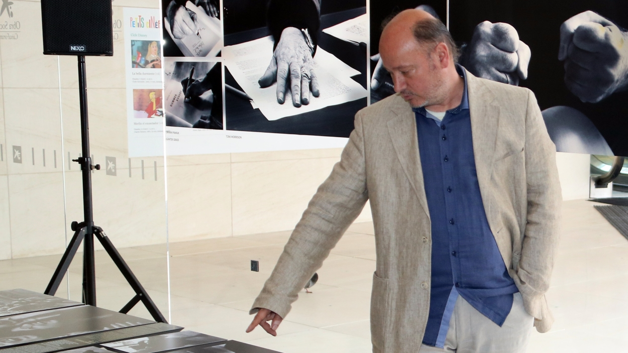 Inauguració de l'exposició del fotoperiodista Kim Manresa