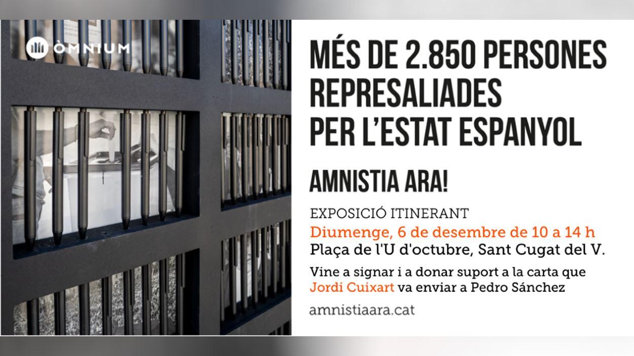 Exposició itinerant: 'Amnistia Ara!'