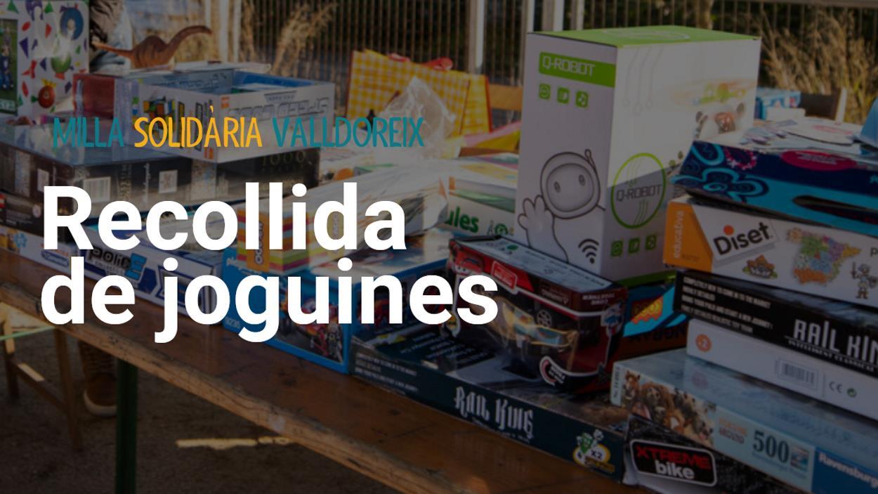 Nadal: Recollida de joguines Milla de Valldoreix