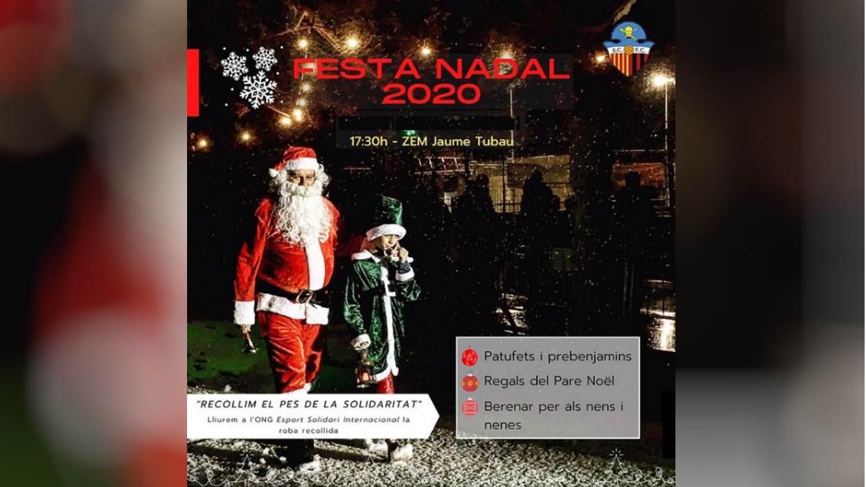 Nadal: Festa de Nadal del Sant Cugat FC