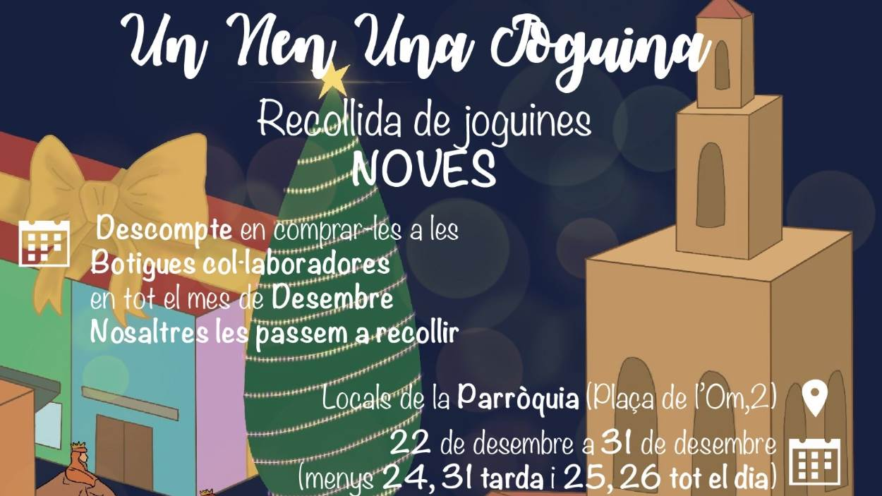 Nadal: Campanya: 'Un nen, una joguina'